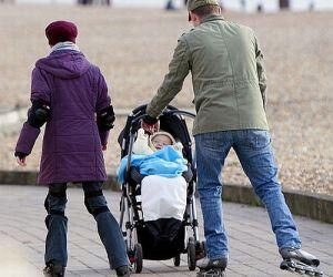 Fit mit Kind – Inline-Skaten mit Kinderwagen