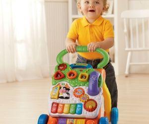 babys lernen laufen mit spiel und laufwagen wunschfee. Black Bedroom Furniture Sets. Home Design Ideas