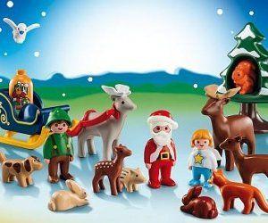 Der Spiel-Adventskalender Waldweihnacht von Playmobil