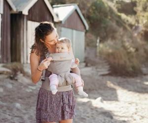 Warum tragen wir unser Baby? Weil der Mensch ein Tragling ist.