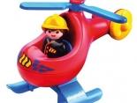 Hubschrauber Playmobil 1.2.3 - Wunschfee