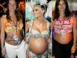 Helau mit Babybauch: Kreative Karnevalskostüme für werdende Mamis