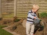 Der Garten als Abenteuerspielplatz für die Kinder