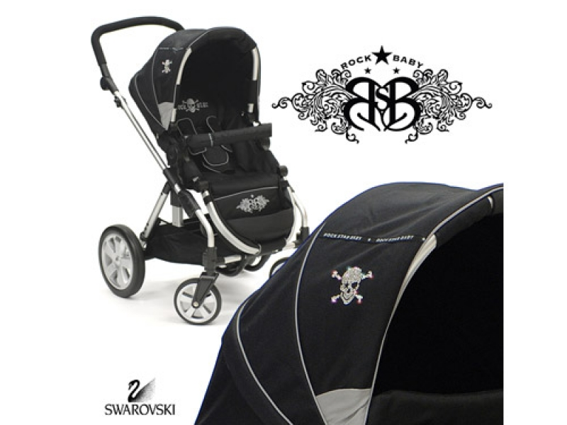 stylische kinderwagen rock star baby wunschfee. Black Bedroom Furniture Sets. Home Design Ideas