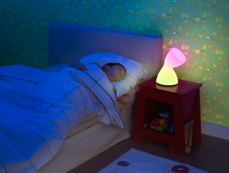 Kinderzimmer mit licht dekoration zaubern wunschfee - Licht kinderzimmer ...