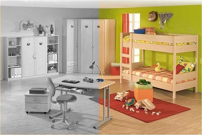 ratgeber f nf tipps zum kinderzimmer streichen wunschfee. Black Bedroom Furniture Sets. Home Design Ideas