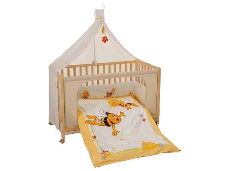 Sanft Schlafen Im Babybett Biene Maja Wunschfee