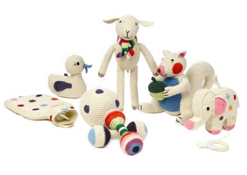 Häkeln Und Stricken Von Spielsachen Fürs Baby Wunschfee