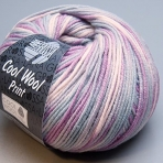 "Lana Grossa Merino superfein ""Cool Wool"" 792 print / 50g Wolle"