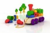 Spielzeug und Spielen mit Baby und Kleinkind