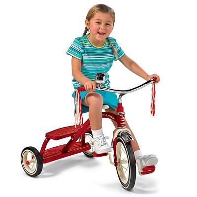 Das rote Retro-Dreirad von Radio Flyer bestellen