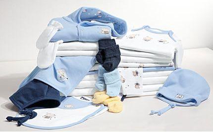 Baby Butt Erstausstattungsset in Blau kaufen
