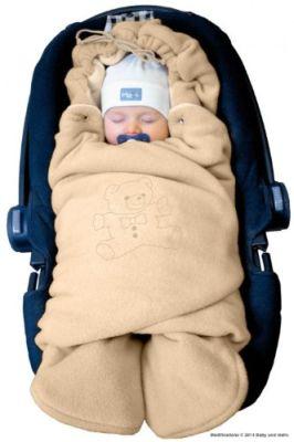 Die Baby-Winter-Einschlagdecke für die Babyschale von Bybum kaufen