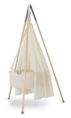 kinderm bel von leander babywiege und babybett wunschfee. Black Bedroom Furniture Sets. Home Design Ideas