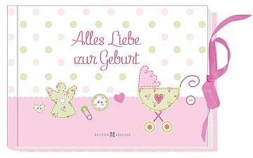 Alles Liebe zur Geburt - Geldgeschenk für kleine Mädchen