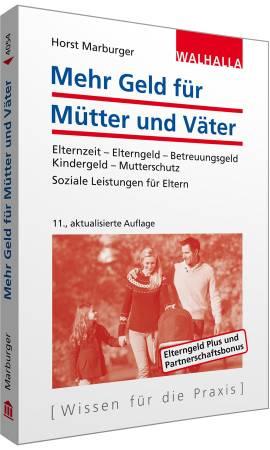 Das Buch - Mehr Geld für Mütter und Väter - kaufen