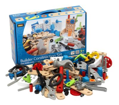 Das Brio-Builder Construction-Set mit 135 teilen kaufen