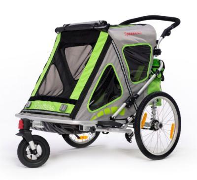 Den Fahrradanhänger Speedkid2 von Qeridoo Version 2016 kaufen