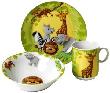 Das wunderschöne Kinder-Geschirr-Set von Ritzenhoff bestellen