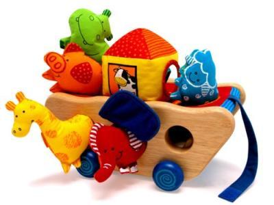 Die Arche Noahs als Abenteuer-Spielzeug bestellen