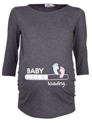 Das lustige T-Shirt mit den Babyfüßchen bestellen