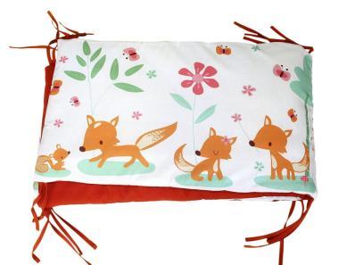 Das wunderschöne Bettnest Sweet Foxes von millemarille bestellen