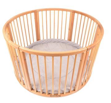 Das runde Laufgitter aus Holz mit Softeinlage bestellen