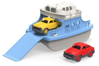 Die Fähre mit Fahrzeugen für die Badewanne von Green Toys bestellen