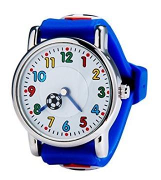 Die Kinder-Fussball-Armbanduhr von ZEIGER bestellen