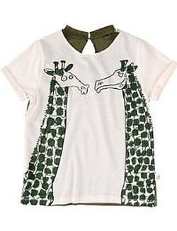 Das Kinder-T-Shirt mit Giraffen von Stella Mc Cartney bestellen