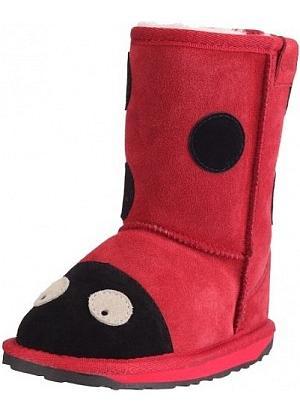 Die supersüssen Marienkäfer-Stiefel für Mädchen bestellen