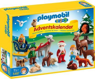 Den Weihnachts-Kalender von Playmobil 1-2-3 bestellen