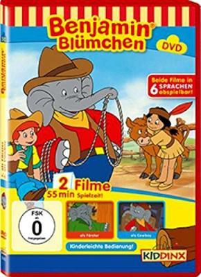 Die DVD Benjamin Blümchen als Förster und Cowboy bestellen
