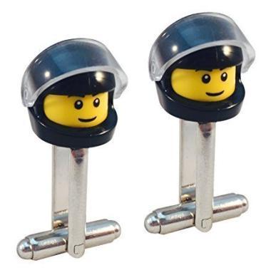 Die Lego-Manschettenknöpfe Rennfahrer bestellen