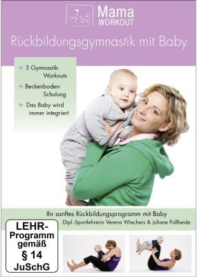 Die DVD - MamaWorkOut Rückbildungsgymnastik mit Baby - bestellen