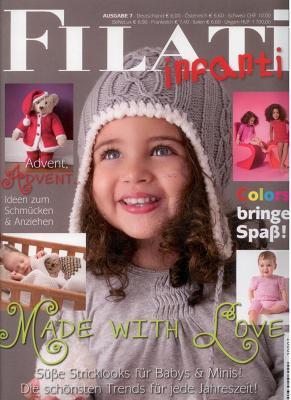Lana Grossa Filati Kids & Babys 7 Strickzeitschrift mit Strickanleitungen