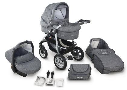 Die Kinderwagen-Combi CORAL 2017 von Krasnal bestellen