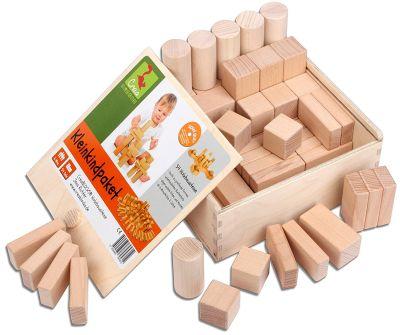 Das CreaBLOCKS Holzbausteine natur Kleinkindpaket bestellen