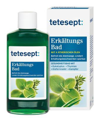 Das Erkältungsbad von Tetesept mit Eukalyptusöl bestellen