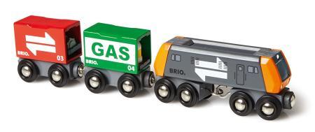 Den Frachtzug mit Diesellok von BRIO bestellen