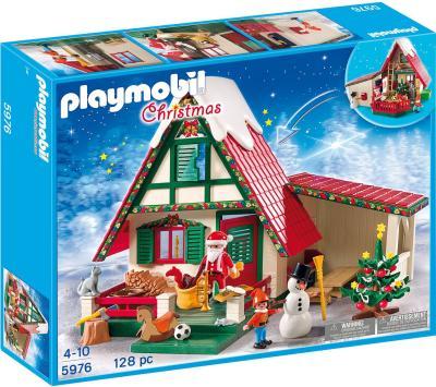 Das Spiel-Set - Zu Hause beim Weihnachtsmann - von Playmobil bestellen