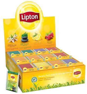 Die Lipton Premium Tee Collection Box, 12x15 Teebeutel bestellen