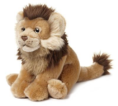 Den flauschigen Plüsch-Löwen des WWF bestellen