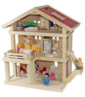 Das Puppenhaus Villa Freda aus Holz bestellen