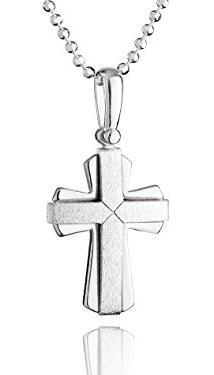 Den Kreuz-Anhänger für die Silberkette als Taufgeschenk bestellen