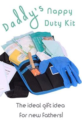 New Dad Babywickel-Survival-Werkzeuggürtel - Geschenk für alle, die in Vaterschaftsurlaub gehen