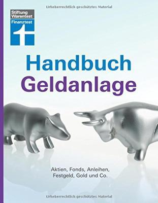 Das Buch - Handbuch Geldanlage von Stiftung Finanztest - bestellen
