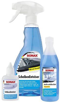 Das SONAX WinterFitSet mit Enteiser für Schlösser und Scheiben bestellen