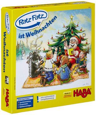 Die Greifspiele von HABA - Ratz Fatz ist Weihnachten - bestellen