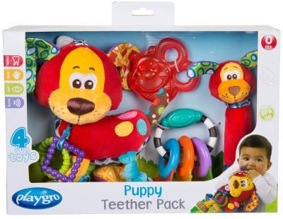 Das Playgro Spiel- und Beißring-Geschenkset Hündchen bestellen